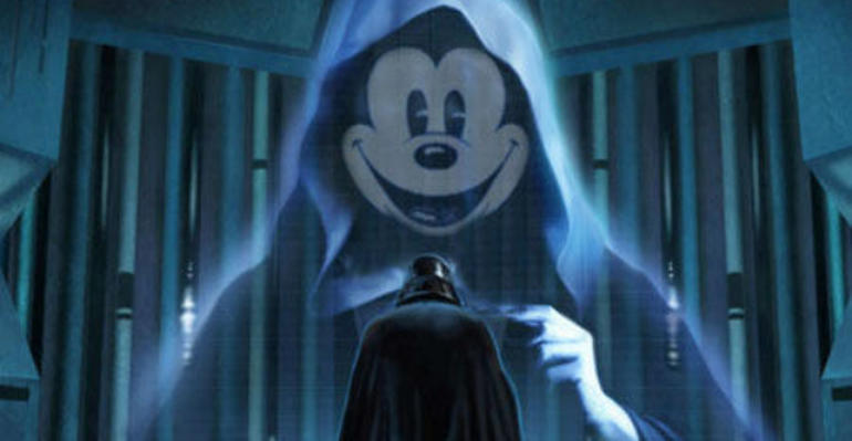 Cómo Mickey Mouse destruyó a Luke Skywalker