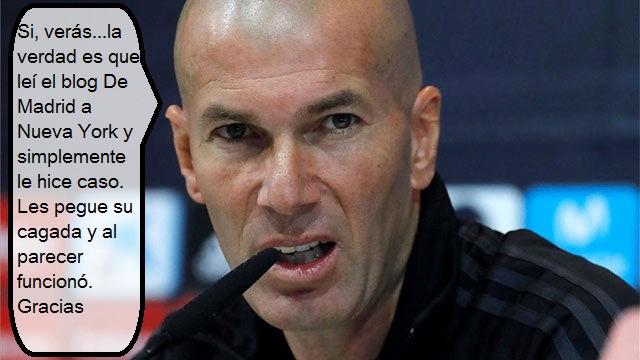 A este Madrid no lo paranadie