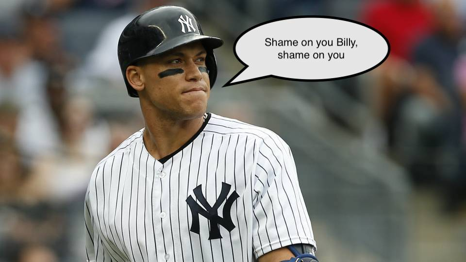"Los Yankees y el traspaso de Aaron Judge – el ""click bait"" de Billy Witz"