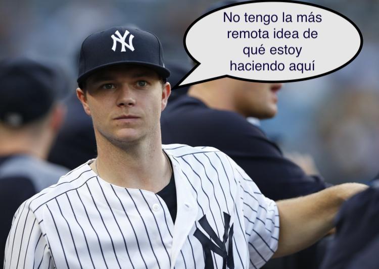 NY Yankees, DFA a este pepinillo porfavor!