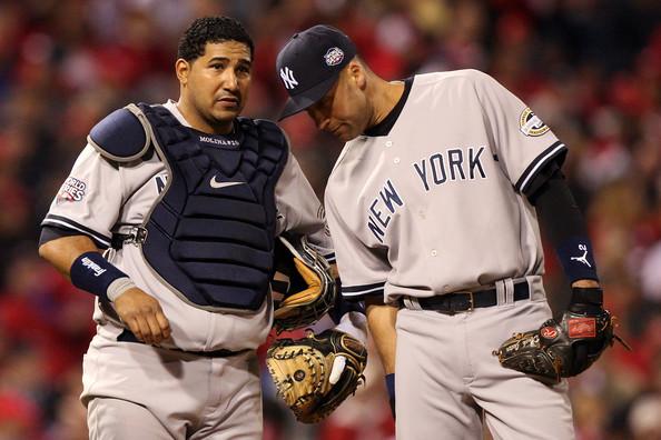 Derek+Jeter+Jose+Molina+New+York+Yankees+v+Iu2TJVNDArFl