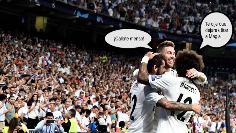 El Madrid de San Mamés y el de laChampions