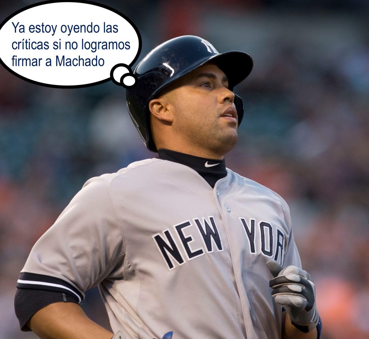 La llegada de Carlos Beltran a los Yankees ¿significa algo para AaronBoone?