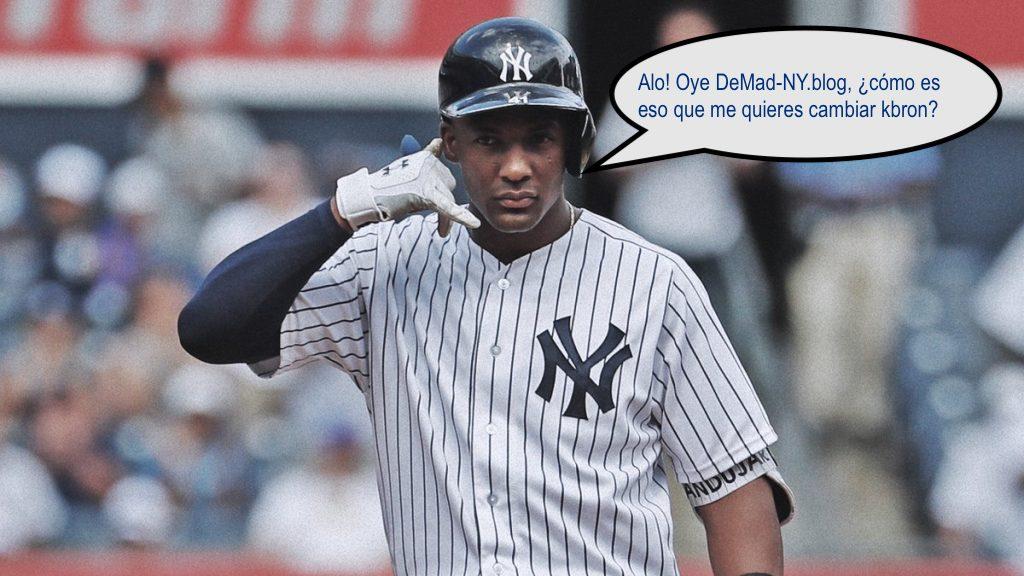 ¿Deben los Yankees cambiar lo que sea por unAS?